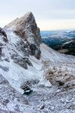 Triglav See-Tal im Winter Lizenzfreie Stockbilder