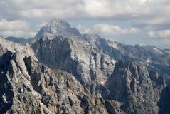 Triglav Slovenien Arkivbilder