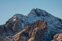 Triglav - wysoka slovenian góra obraz stock