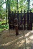 Triglaw, славянский бог стоковые фотографии rf