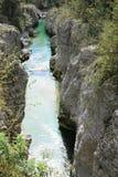 Triglev nationalpark i Slovenien royaltyfri foto