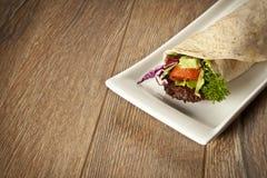 Trigo duro del kebab de Adana del turco Imágenes de archivo libres de regalías