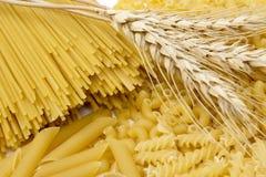Trigo e massa Imagem de Stock