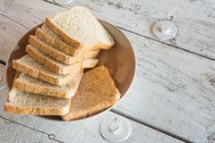 Trigo inteiro bread Fotografia de Stock