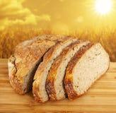 Trigo inteiro bread imagens de stock