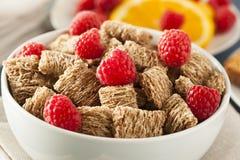 Trigo inteiro saudável cereal Shredded Foto de Stock Royalty Free