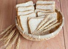 Trigo, pão Fotografia de Stock Royalty Free