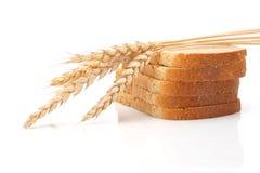 Trigo y pan Foto de archivo libre de regalías