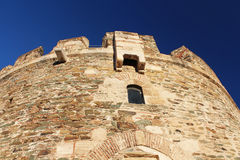 Trigonion Tower, Thessaloniki, Greece Stock Photo