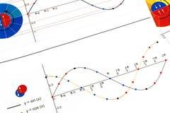 Trigonometria immagine stock