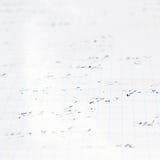 Trigonometrimatematiklikställande och formler Royaltyfria Bilder