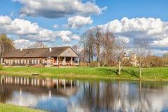 Trigorskoye, the former estate by Osipova, close friend of Pushk Stock Photography