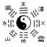 Trigrams Royalty Free Stock Photography