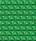 Trihedral πράσινη άνευ ραφής σύσταση πυραμίδων ελεύθερη απεικόνιση δικαιώματος
