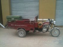 Trike в Афганистане Стоковое Фото