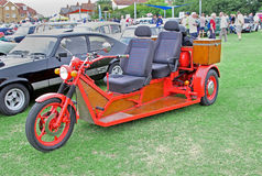 Trike chopper bike Stock Images