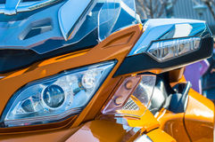 Trike motorcycle photography Royalty Free Stock Photo