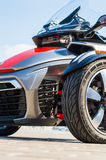 Trike motorcycle photography Royalty Free Stock Image