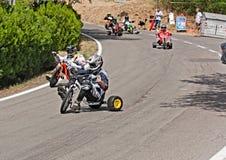 Trike slide Stock Images
