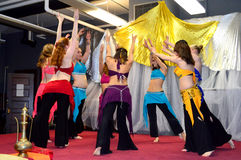 Trikhala Bellydancers Spring Extravaganza Stock Photography