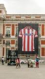 Trikot Atletico Madrid Lizenzfreie Stockbilder