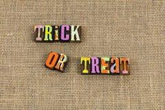 Trikowy Halloween lub funda zdjęcia royalty free