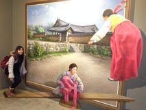 Trikowy oka muzeum Obraz Royalty Free