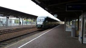 Trilex Länderbahn Richtung Zittau von Bischofswerda Immagini Stock