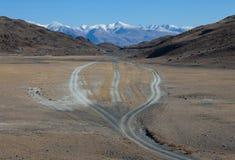 Trilha da estrada Fotografia de Stock Royalty Free