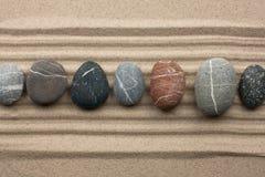 Trilha das pedras imagem de stock