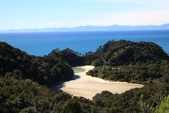 Trilha de Abel Tasman Fotos de Stock