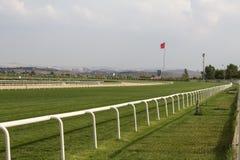 Trilha de corrida de cavalos Imagens de Stock Royalty Free