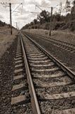 Trilha de estrada de ferro Imagens de Stock