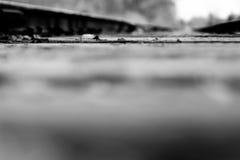 Trilha de estrada de ferro Foto de Stock Royalty Free
