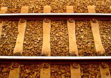 Trilha de estrada de ferro Fotografia de Stock Royalty Free