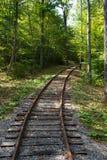 Trilha de estrada de ferro Fotos de Stock Royalty Free