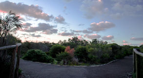 A trilha de passeio de Fairfax Imagem de Stock