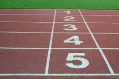 Trilha de raça Running Fotos de Stock Royalty Free