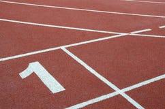Trilha de raça Running Imagem de Stock