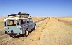 Trilha de Sahara imagem de stock