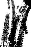 Trilha do pneu do Grunge Fotografia de Stock
