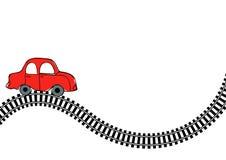 Trilha do trem Imagem de Stock