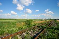 Trilha do trem Imagens de Stock Royalty Free