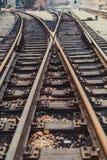 A trilha do trem Imagens de Stock