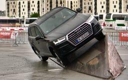 Trilha fora de estrada do teste do veículo nos carros de IAA Fotografia de Stock Royalty Free
