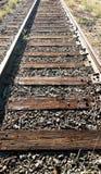Trilha fora de serviço do trem Imagens de Stock Royalty Free
