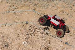 Trilha offroad roading da reunião do suv do brinquedo de Rc, espaço livre Imagem de Stock