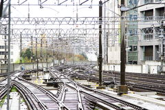 Trilha Railway Imagens de Stock
