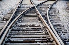 A trilha Railway Imagem de Stock