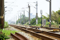 Trilha Railway Foto de Stock Royalty Free